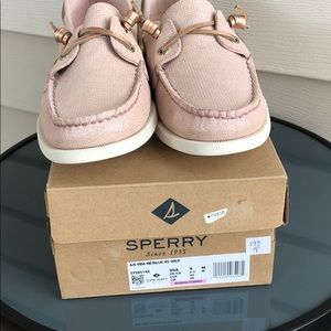 Sperry Shoes - NEW Sperry top slider sneaker Vida Metallic 9 gold